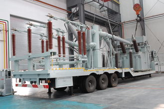 132 Kv Vehicle Mounted Transformer Substation /  Prefabricated Mobile Substation